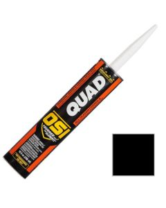 OSI Quad Window Door Siding Sealant Caulk 10oz Black 003
