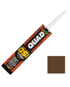 OSI Quad Window Door Siding Sealant Caulk 10oz Timber Bark 253