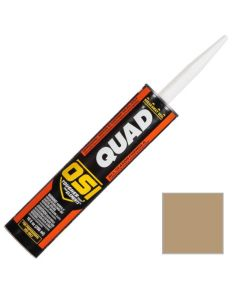 OSI Quad Window Door Siding Sealant Caulk 10oz Autumn Tan 497