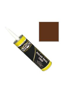 NPC 900 Solar Seal Caulk 19oz Pro Size Royal Mansard Brown 9033 9ct