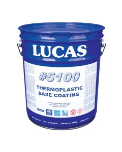 Lucas 5100 Thermoplastic Base Coating Solvent Based 5 Gallon