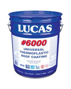 Lucas 6000 Universal Thermoplastic Coating 5 Gallon White