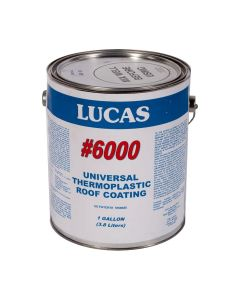 Lucas 6000 Universal Thermoplastic Roof Coating 1 Gallon Black