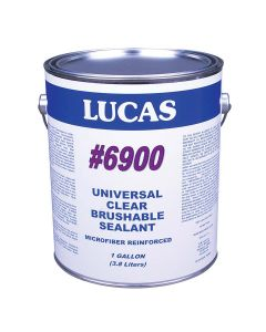 Lucas 6900 Universal Clear Sealant Microfiber Reinforced 1 Gallon