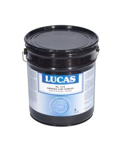 Lucas 754 Asphalt Lap Cement and Insulation Adhesive 5 Gallon