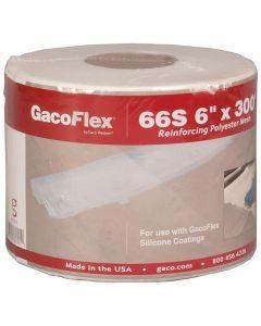 "Gaco Flex 66S Reinforcing Polyester Mesh 6""x300' White"
