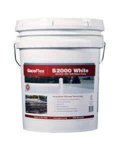 Gaco Flex S2000 Silicone Roof Coating 5 Gallon White