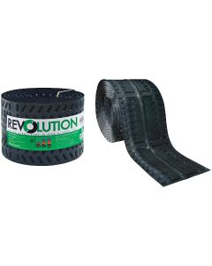 "Cor-A-Vent REV-11 Revolution Rolled Ridge Vent 11""x20' Roll Coravent"