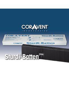 """Cor-A-Vent SB-48 Sturdi-Batten 7/16""""x1-1/2""""x4' Coravent 1pc"""