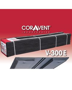 "Cor-A-Vent V-300-8E Enhanced Ridge Vent 5/8""x8-1/2""x4' 12ct Coravent"