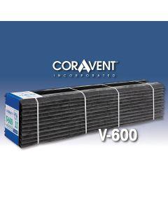 """Cor-A-Vent V-600-8 Ridge Vent 1""""x8-1/2""""x4' 12ct Coravent"""