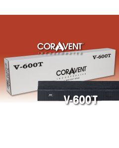 """Cor-A-Vent V-600T Ridge Vent 1""""x3-1/4""""x4' 24ct Coravent"""