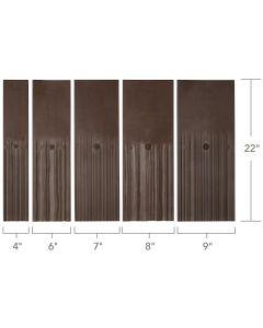 "DaVinci MWHFBS Multi-Width Shake Field Bundle 4"",6"",7"",8"",9""x22"" 24PC/BDL Standard"