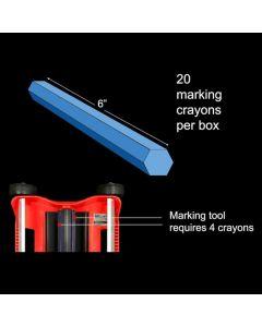 OMG RBCRAYON-20PK RhinoBond Plate Marker Crayons 20ct