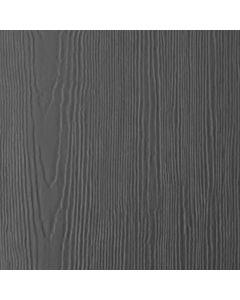 "James Hardie HardiePanel Fiber Cement Cedarmill Siding 48""x120"" Night Gray 1pc"