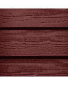 "James Hardie HardiePlank Fiber Cement Cedarmill Siding 7.25""x144"" Countrylane Red 1pc"
