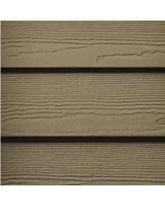 "James Hardie HardiePlank Fiber Cement Cedarmill Siding 7.25""x144"" Woodstock Brown 1pc"