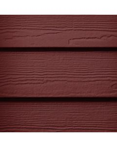 "James Hardie HardiePlank Fiber Cement Cedarmill Siding 8.25""x144"" Countrylane Red 1pc"
