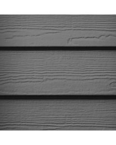 "James Hardie HardiePlank Fiber Cement Cedarmill Siding 8.25""x144"" Night Gray 1pc"