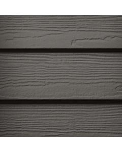 "James Hardie HardiePlank Fiber Cement Cedarmill Siding 8.25""x144"" Rich Espresso 1pc"