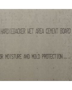 "James Hardie HardieBacker Fiber Cement 500 Cement Board 36""x60""x.42"" UnPrimed 50ct Pallet"