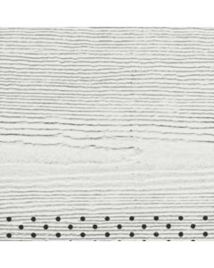"James Hardie HardieSoffit Fiber Cement Vented Cedarmill Panel 12""x144"" Arctic White 1pc"