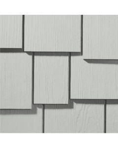 """James Hardie HardieShingle Fiber Cement Staggered Siding 15.25""""x48"""" Light Mist 1pc"""