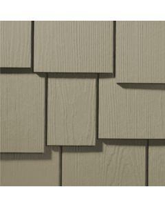 "James Hardie HardieShingle Fiber Cement Staggered Siding 15.25""x48"" Monterey Taupe 1pc"