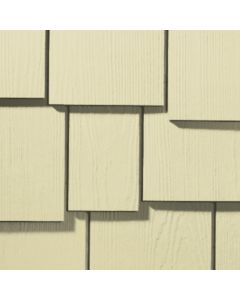 "James Hardie HardieShingle Fiber Cement Staggered Siding 15.25""x48"" Navajo Beige 1pc"