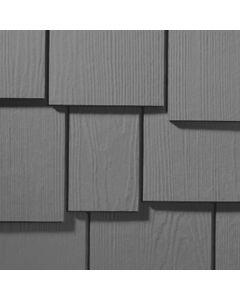 "James Hardie HardieShingle Fiber Cement Staggered Siding 15.25""x48"" Night Gray 1pc"