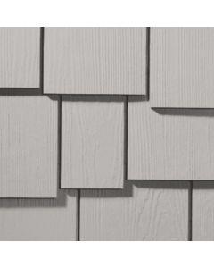 "James Hardie HardieShingle Fiber Cement Staggered Siding 15.25""x48"" Pearl Gray 1pc"