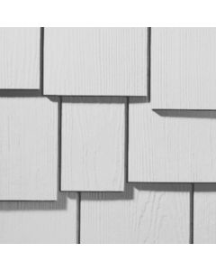 "James Hardie HardieShingle Fiber Cement Staggered Siding 15.25""x48"" Primed 1pc"
