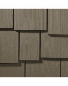 "James Hardie HardieShingle Fiber Cement Staggered Siding 15.25""x48"" Timber Bark 1pc"