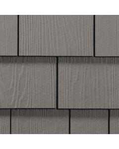 "James Hardie HardieShingle Fiber Cement Straight Siding 15.25""x48"" Aged Pewter 1pc"