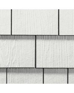 "James Hardie HardieShingle Fiber Cement Straight Siding 15.25""x48"" Arctic White 1pc"