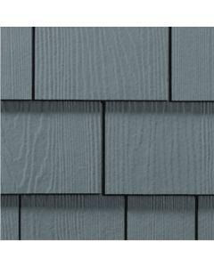 "James Hardie HardieShingle Fiber Cement Straight Siding 15.25""x48"" Boothbay Blue 1pc"
