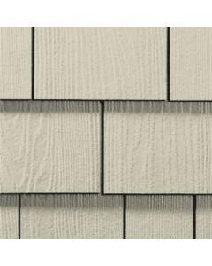 "James Hardie HardieShingle Fiber Cement Straight Siding 15.25""x48"" Cobble Stone 1pc"