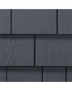 "James Hardie HardieShingle Fiber Cement Straight Siding 15.25""x48"" Deep Ocean 1pc"