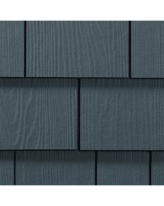 "James Hardie HardieShingle Fiber Cement Straight Siding 15.25""x48"" Evening Blue 1pc"