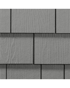 "James Hardie HardieShingle Fiber Cement Straight Siding 15.25""x48"" Gray Slate 1pc"