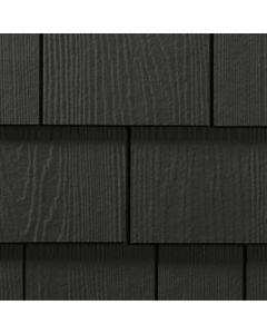 "James Hardie HardieShingle Fiber Cement Straight Siding 15.25""x48"" Iron Gray 1pc"
