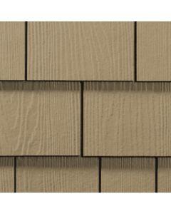 "James Hardie HardieShingle Fiber Cement Straight Siding 15.25""x48"" Khaki Brown 1pc"