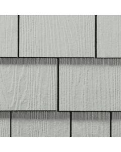 """James Hardie HardieShingle Fiber Cement Straight Siding 15.25""""x48"""" Light Mist 1pc"""
