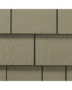 "James Hardie HardieShingle Fiber Cement Straight Siding 15.25""x48"" Monterey Taupe 1pc"