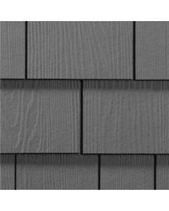 "James Hardie HardieShingle Fiber Cement Straight Siding 15.25""x48"" Night Gray 1pc"