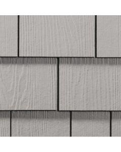 "James Hardie HardieShingle Fiber Cement Straight Siding 15.25""x48"" Pearl Gray 1pc"