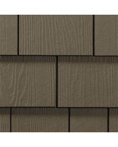 "James Hardie HardieShingle Fiber Cement Straight Siding 15.25""x48"" Timber Bark 1pc"