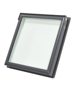 "VELUX FS S06 0004 Skylight Fixed Deck Mount Low E Stain Grade Wood 44 1/4""x45 3/4"""