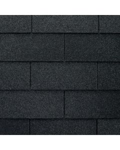 GAF Royal Sovereign 0201180 3-Tab Roof Shingles 33.33 sq ft Charcoal