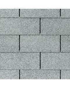 GAF Royal Sovereign 0202736 3-Tab Roof Shingles 33.33 sq ft Silver Lining